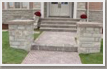 Commercial Stone Slab Steps