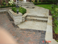 Stone Step, Patio & Wall