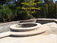 Concrete Pools, Walls, Steps and Walkway